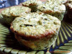 Flan de courgettes au curry - Ces petits flans de courgettes au curry apportent une touche originale au repas.