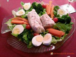 Colin froid mayonnaise - Convient pour un buffet froid ou à l'ambiance paresseuse d'un dimanche.
