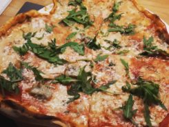 Pizza coeur aux 2 fromages