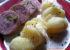 Saucisson à cuire pistaché et pommes vapeur